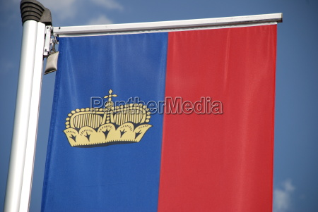 banner banner flag principality of liechtenstein