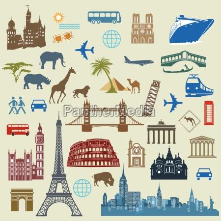 world travel slynne zabytki miedzynarodowe