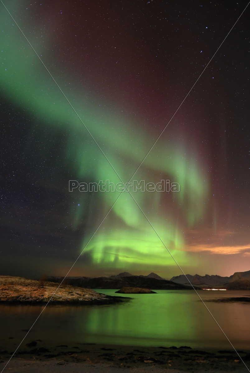 northern, lights, -, norwegia - 10076426