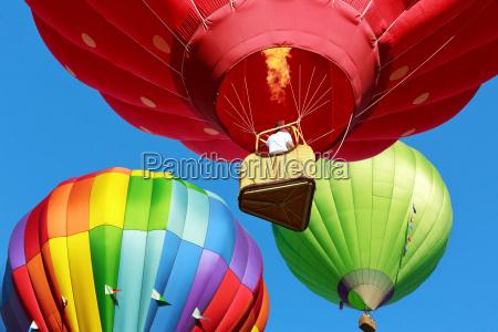 balonow na ogrzane powietrze