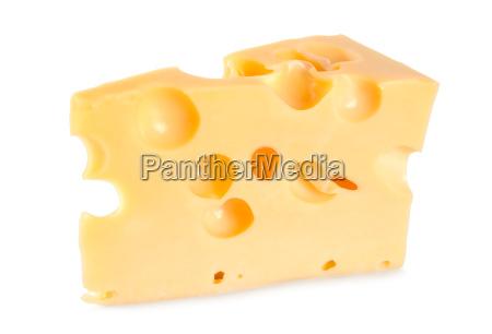 holenderski ser rolniczy na bialym tle