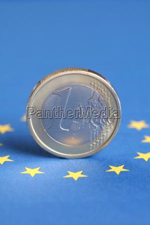 1 euro coin and the eu