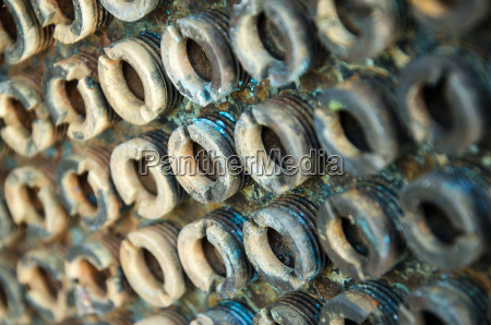 wkret stal stalowe metal rusty szpilki