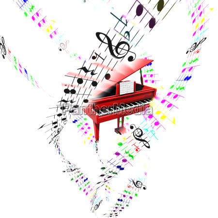 muzyka pianino struna szpagat z gumy