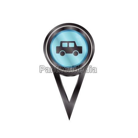 pin znak samochod
