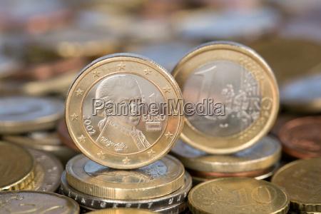 1 euro austria austria mozart
