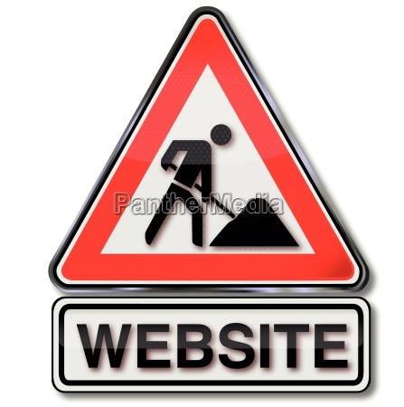 site baustellenschild