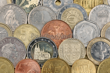 coins from the whole world