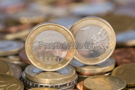 1 euro estonia estonia
