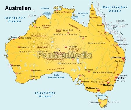 mapa australii jako mape strony glownej