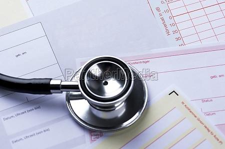 poslizg transferowy z stetoscope
