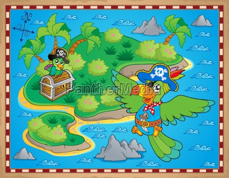 treasure map theme image 9