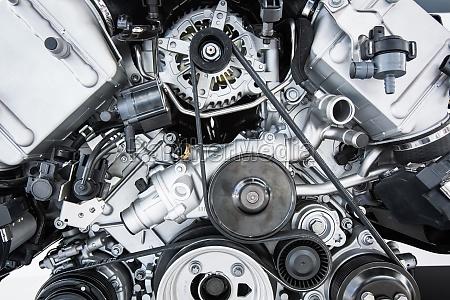 car engine nowoczesny silnik mocny