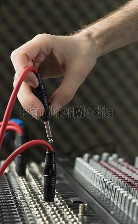 podlaczanie gniazda audio