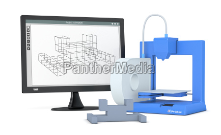 3d printer from sketch to prototype