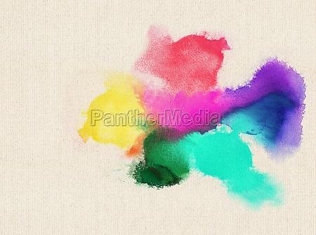 kolorowe plotno