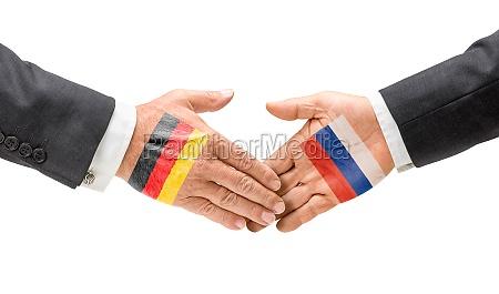 niemcy i rosja docieraja do swoich