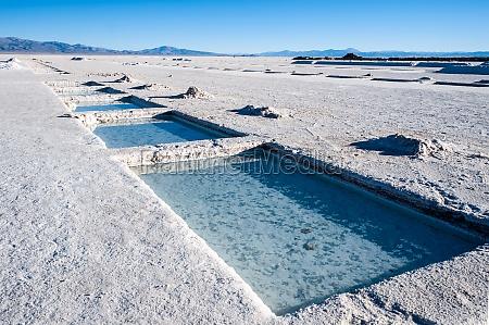 salinas grandes w argentynie pustynia