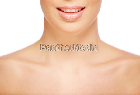 smile of female