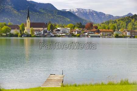 rottach egern at lake tegernsee in