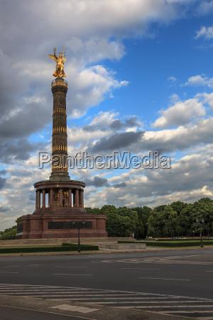 siegessaeule great star tiergarten berlin