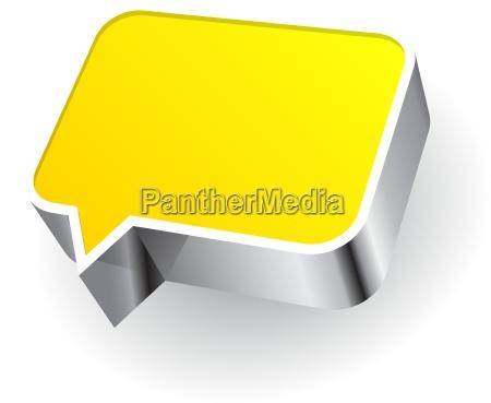 ikona mowy na bialym tle