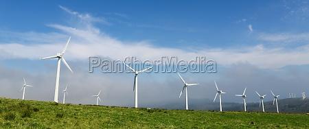 ladowe farmy wiatrowe w polnocnej czesci