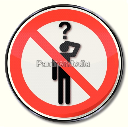 zakaz znak prosi zakazane