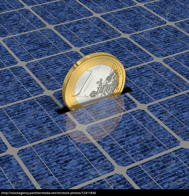oszczędność, pieniędzy, przez, solar, energy, 1 - 12411846
