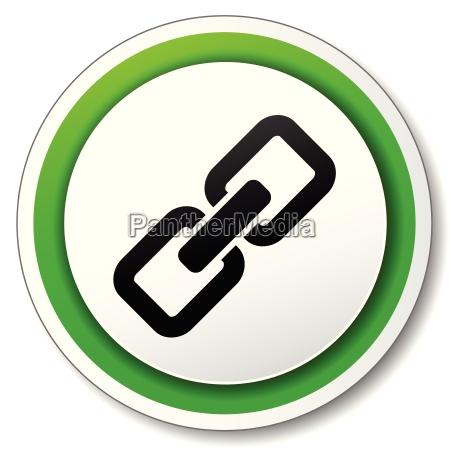 ikona lacza wektorowego