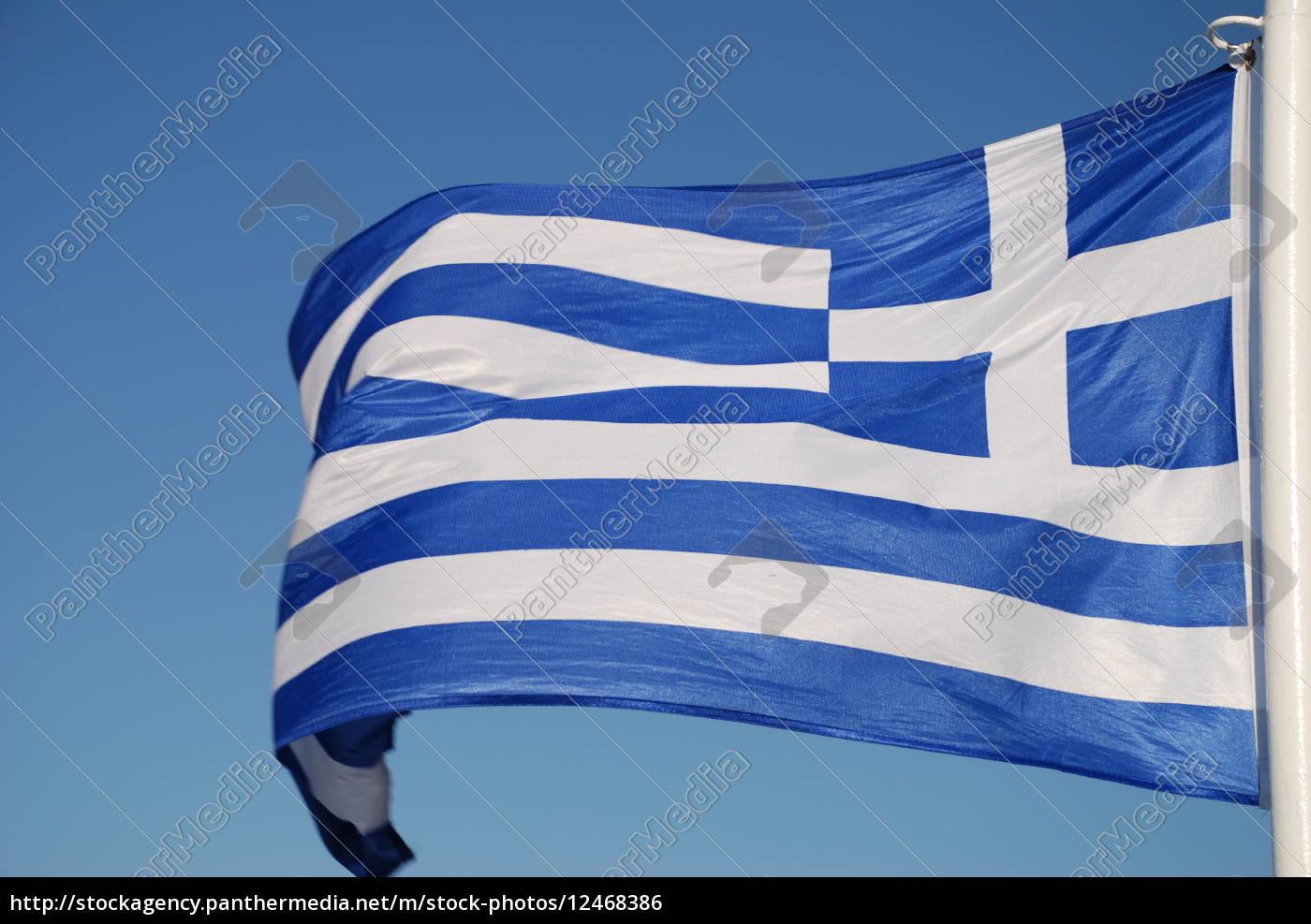 hellas, flag, banner, flaga, grecja - 12468386