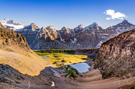 widok pasma gorskiego z przeleczy sentinelgory