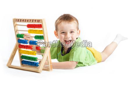 jolly baby boy z abacus na