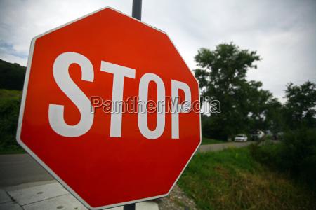 tarcza sygnal znak przystanek posiada pauza