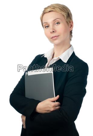 młoda, kobieta, biznesu - 12884054