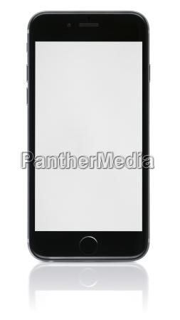 nowy telefon z pustego ekranu na