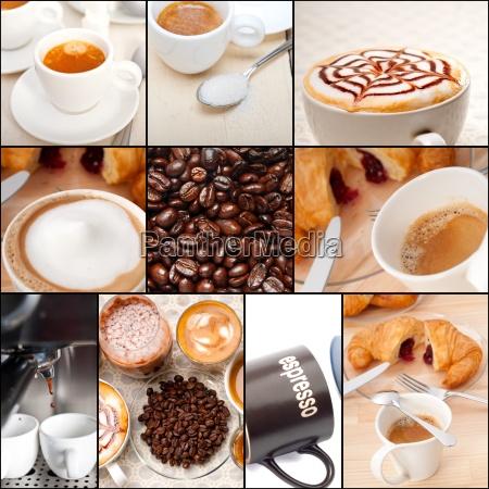 wybor roznych rodzajow kawy na sklad