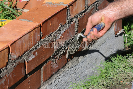 brick wall bricklayer