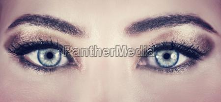 piekne oczy makijaz
