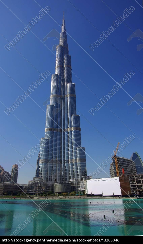 dubaj, burj, khalifa, fontains - 13208046