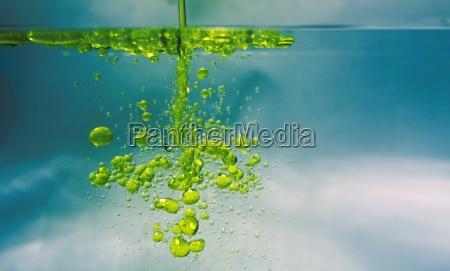 olej w wodzie