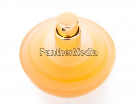 zolty piekne butelka perfum