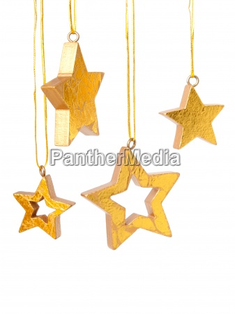 golden christmas tle gwiazd