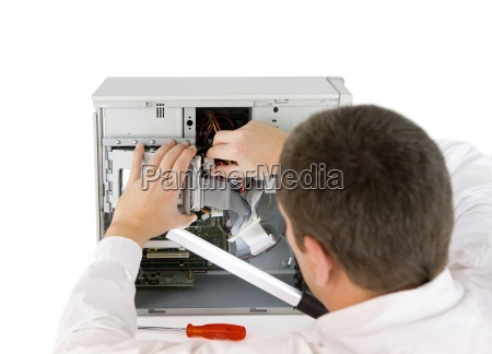computer professional w pracy