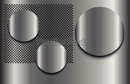metal punkty trzy szablon schnittmuster punktow
