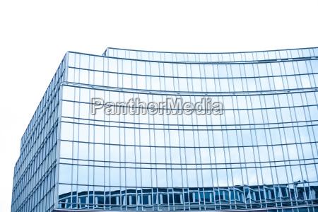 lawka bank niebieski wieza szklo kubek