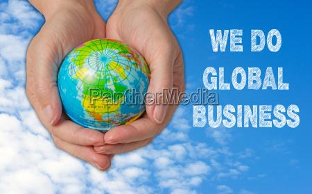 we do global business