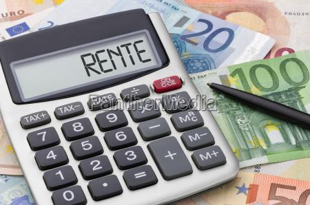 kalkulator z notatkami kasowymi pensjonat