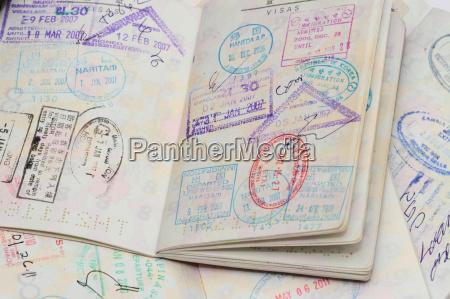 wizy w paszporcie