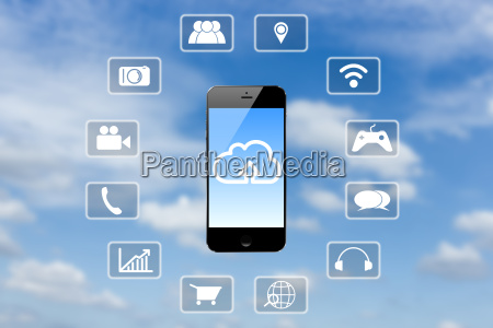 telefon aplikacja komunikacja dane informacje temat